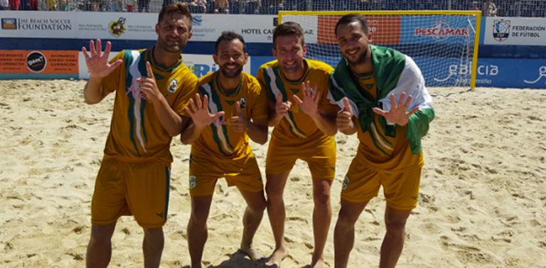 439521512fb7e El combinado andaluz logró la gesta un año más en el Campeonato de España  Absoluto de Fútbol Playa