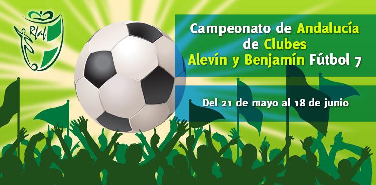 3e34df790376d Los Campeonatos de Andalucía de clubes alevín y benjamín comienzan la  primera eliminatoria este domingo