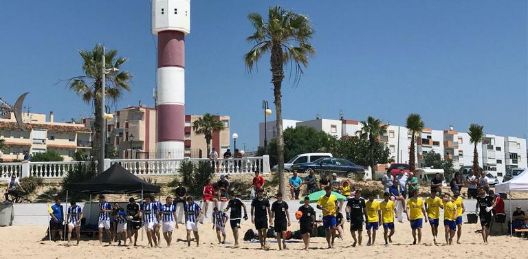 Barbate ha acogido la celebración de dos jornadas de la LNFP El grupo único  de la Liga Nacional de Fútbol playa disputó dos jornadas en la playa de la  ... adae0725bd5b3